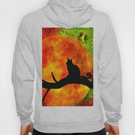 BLACK CAT HARVEST MOON 2018 Hoody