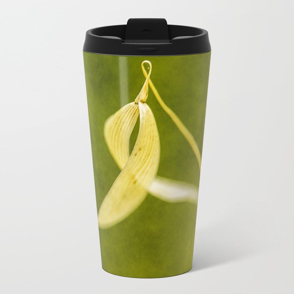 Spike On Green Metal Travel Mug by Ilodesigns MTM7707643