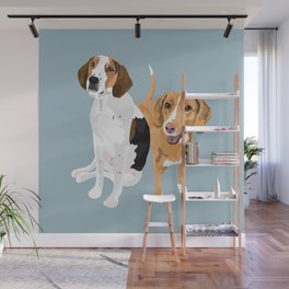 Boone and Summer Wall Mural