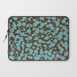 Bubbles in the Batter - Chocolate-Blue Laptop Sleeve