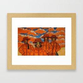Burn as Bright as the Sky Framed Art Print