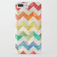 Chevron Rainbow Quilt Slim Case iPhone 7 Plus