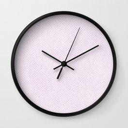 Elegant amethyst lavender silver glitter geometrical Wall Clock