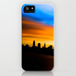 Cleveland Sunrise At Edgewater Park With Pier iPhone Case