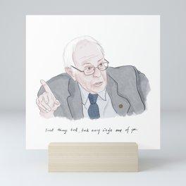 Bernie Sanders  Mini Art Print