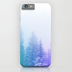 Blue and Purple Pines iPhone 6s Slim Case