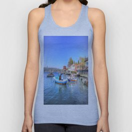 Boats on The Bosphorus Istanbul Unisex Tank Top