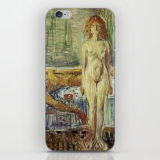 The Death of Marat II by Edvard Munch iPhone & iPod Skin