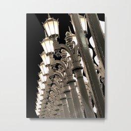 Lights in Lines 2 Metal Print