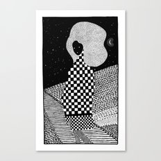 sleepless night Canvas Print