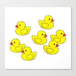 Oh Ducks! Canvas Print