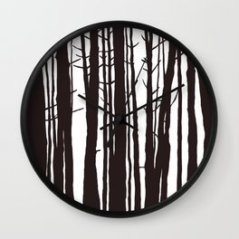 The Trees and The Forest Wall Clock