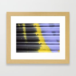 graffiti2 Framed Art Print