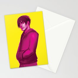 Yellow + Pink Stationery Cards