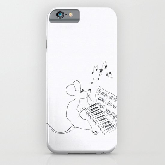 mouse pianist iPhone & iPod Case