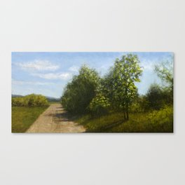 Country road in Carnation, WA Canvas Print