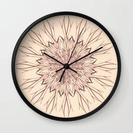 Mandala pastel Wall Clock