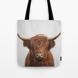 Highland Cow - Colorful Tote Bag