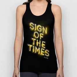Sign Of The Times Unisex Tank Top
