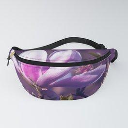 Ultra Violet Magnolia Fanny Pack