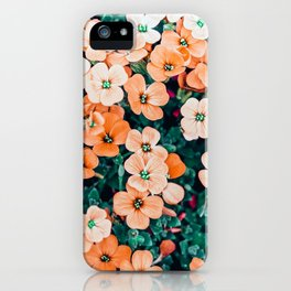 Floral Bliss #photography #nature iPhone Case