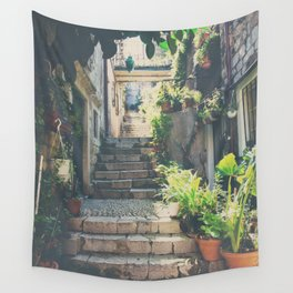 the prettiest of stairs ... Wall Tapestry