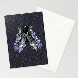 The flowers and the fly Stationery Cards