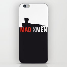 MAD X MEN iPhone Skin