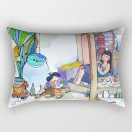 Family buisness Rectangular Pillow