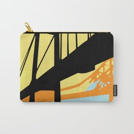 Over-Under Pop Art Bridge Carry-All Pouch