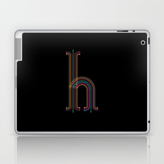 H like H Laptop & iPad Skin