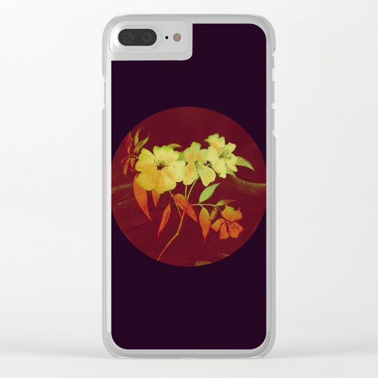 floral in Asian feel Clear iPhone Case