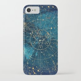 Star Map :: City Lights iPhone Case