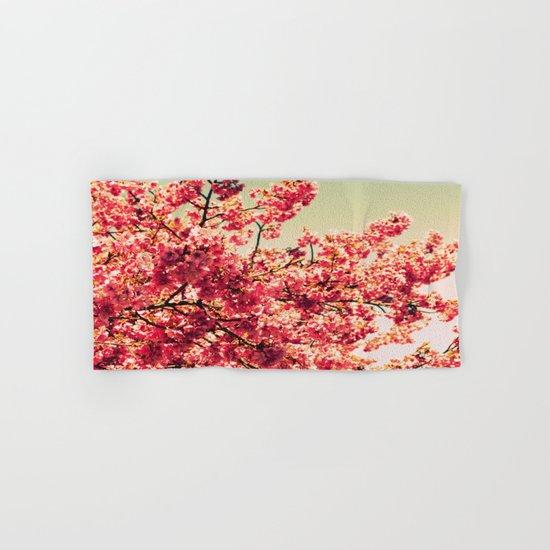 floWers : Romantic Vintage Blossoms Hand & Bath Towel
