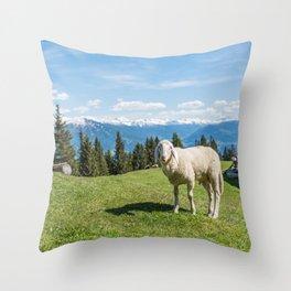 Me, the Sheeple?! Throw Pillow