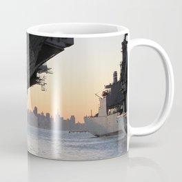 Aircraft carrier Hornet San Francisco Coffee Mug