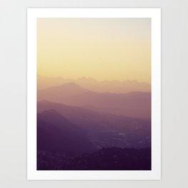 Como Art Print
