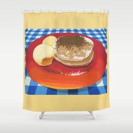 Pancakes Week 15 Shower Curtain