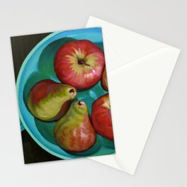 Apple Bowl Stationery Cards