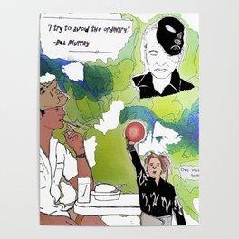 Bill Freakin Murray! Poster