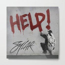 Help! Sylar Metal Print