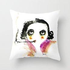 Mme Zuzu Throw Pillow