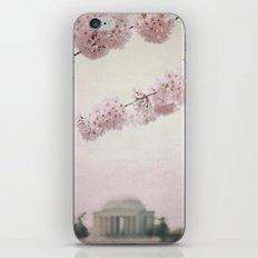 Washington DC Cherry Blossoms iPhone & iPod Skin