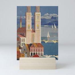 Zurich Placard Mini Art Print