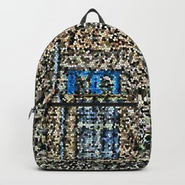 crystalized facade Backpack