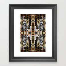 Drips ORG:02 Framed Art Print