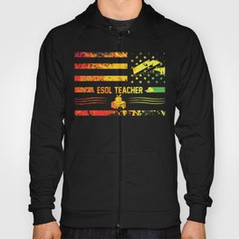 Cool Gift for ESOL Teachers Students Back to School Hoody