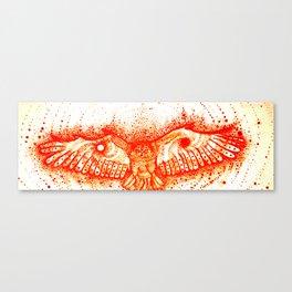 Yin and Yang Hawk Canvas Print