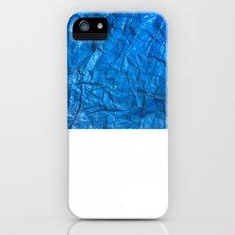 Blue texture iPhone Case