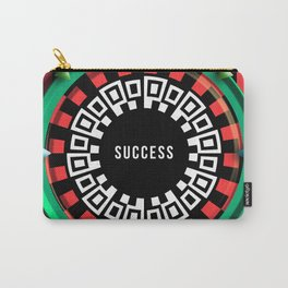 Playing roulette of a successful champion Carry-All Pouch